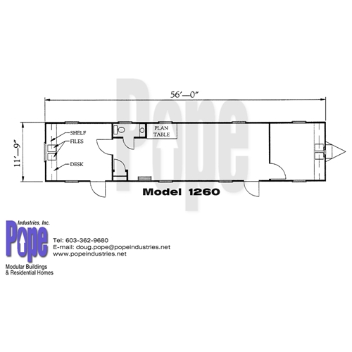 Pope Industries Inc Model 1260